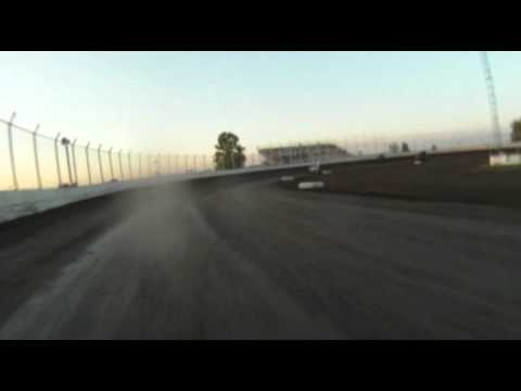 Kennedale Speedway Park sprint car Heat race 4-16-11