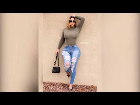 Andrea Abeli - Gorgeous Plus Size Chubby Curvy Fashion Model