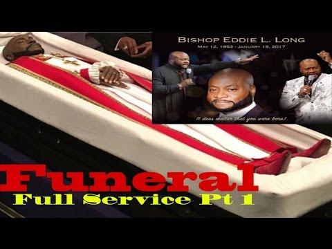 Pt1 of Bishop Eddie Long Funeral (Full Service)