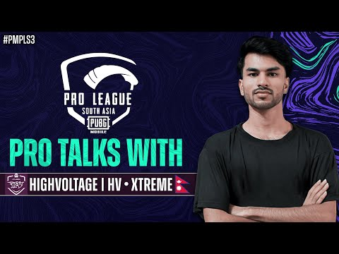 Pro Talks with Highvoltage | PUBG MOBILE Pro League South Asia 2021 S3