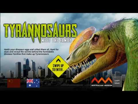 You have a strong body!Tyrannosaurs 1