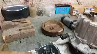 Tronçonneuse démontage du moteur Honda gxv 120 + dédicace