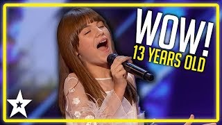 Simon Cowell Is My Idol! Charlotte Summers on America's Got Talent 2019 | Kids Got Talent