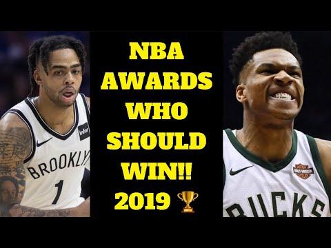 2019 NBA AWARDS WHO SHOULD WIN! WHO WINS NBA MVP? 2019 NBA AWARDS PREDICTIONS