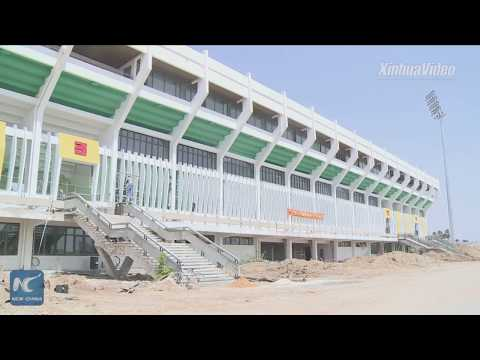 Mauritania's largest stadium gets facelift with China's help