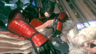 Justice League 3000 Skin -- Catching the ManBat  -- Arkham Knight