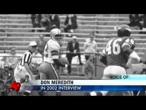 Don Meredith Dies After Brain Hemorrhage
