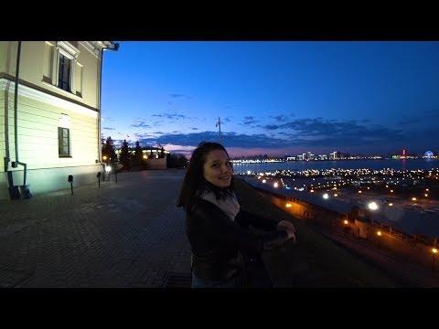 Прогулка по Казани   Вечерний Кремль