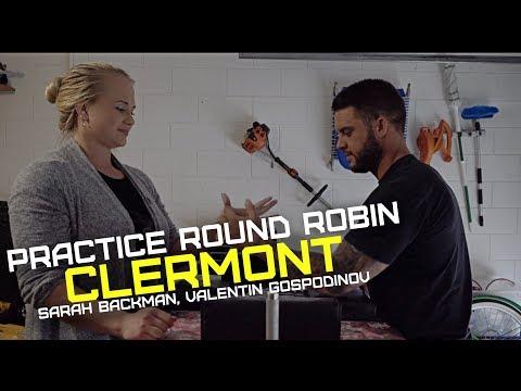 Round Robin at Practice w. Sarah Backman, Valentin Gospodinov,Evo etc.)