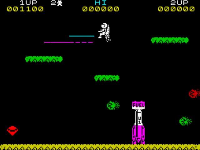 Jouez à Jetpac sur Sinclair ZX Spectrum