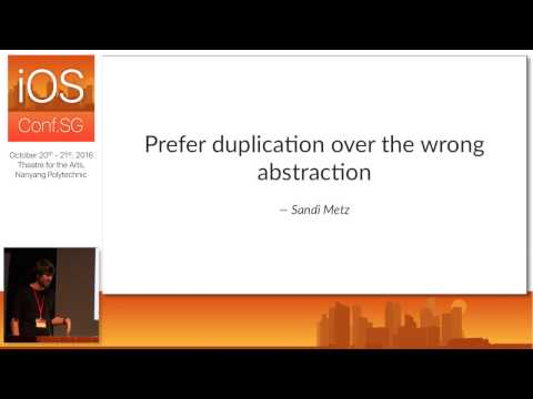 A Protocol for Composition - iOS Conf SG 2016
