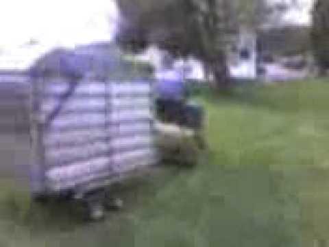 Gardena Gartenmobil: Vielseitiger Transportwagen f/ür den Garten 232-20 rasenschonende R/äder mit Deckel und M/üllsack mit integrierter Sackkarre