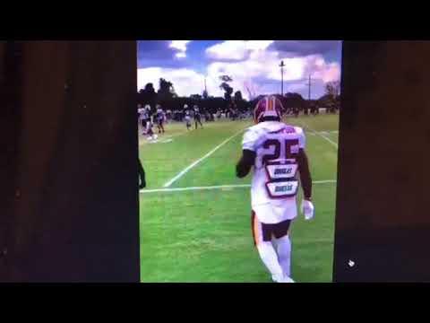 Washington Redskins vs NY Jets Training Camp Brawl After Cheap Shot On Morgan Moses