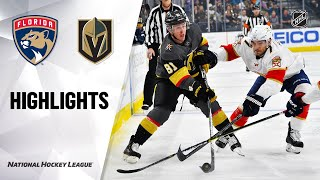 NHL Highlights | Panthers @ Golden Knights 2/22/20