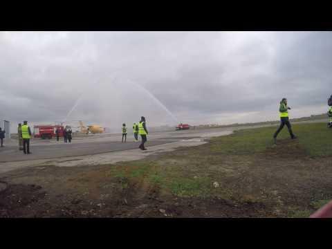 Встреча Ан-148 в Саратове