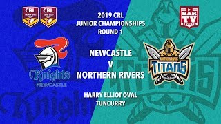 2019 Country Rugby League Rep - Johns and Daley Cup - Round 1- Knights v Titans