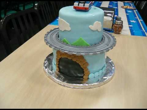 Thomas The Tank Engine Cake Youtube