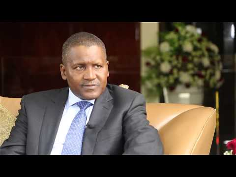 DANGOTE INTERVIEW EXCLUSIVE