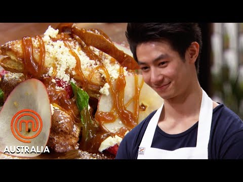 Chef Shannon Bennett's Jaffle Challenge |  MasterChef Australia | MasterChef World