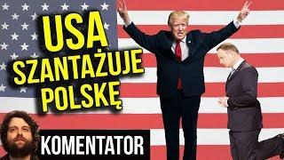 Ultimatum USA dla Polski - Chińskie Huawei i Sieć 5G albo Fort Trump - Analiza Komentator Wojsko