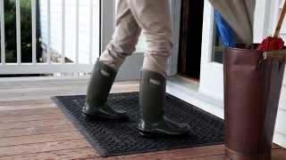 Cable Weave Waterhog™ Doormat Sku# 53058 - Plow & Hearth