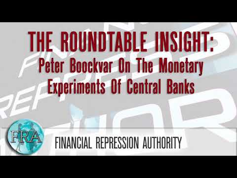 Peter Boockvar On The Monetary Experiments Of Central Banks