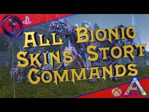 Ark - All Bionic Skins Short Commands