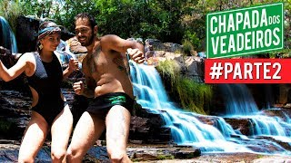 #38 | AS MAIS  BELAS CACHOEIRAS DA CHAPADA DOS VEADEIROS - GO| CAVALCANTE-GO