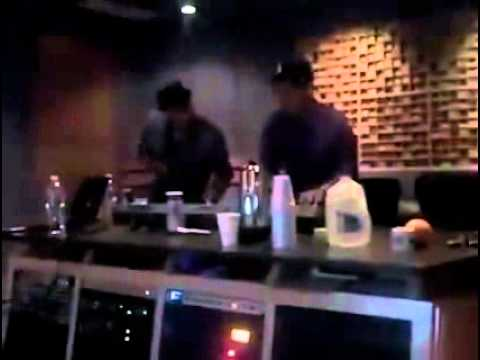 Bruno Mars and Philip Lawrence - Epic in studio