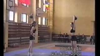Womens juggling - championship of Russia. RGSI kettlebell archive 2002