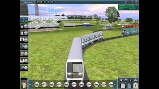Trainz 2010 Metro Modula City