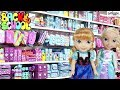 BACK TO SCHOOL SHOPPING! - Elsa & Anna Toddlers - School Supplies Fun-Funny Kids video