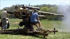 Shooting German Flak 36 88 mm
