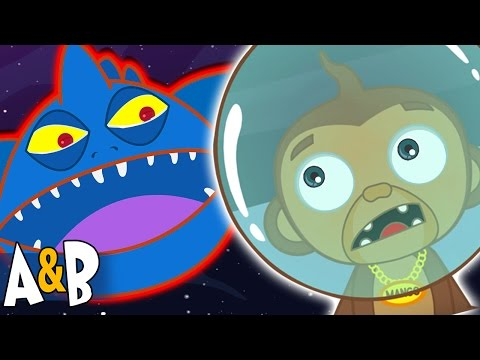 Space Monster | Cartoon | Funny Cartoons for Children | The Adventures of Annie and Ben