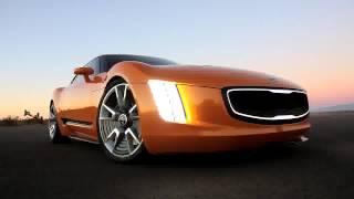 Kia GT4 Stinger Concept ilk video - Detroit Motor Show