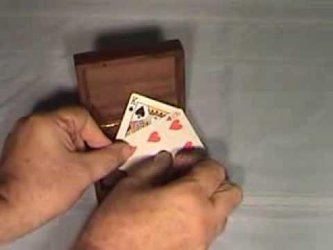 Card Box Magic produced by Deebee Mazik