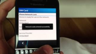 Unlock Your Blackberry Z30, Q10, Q5, Z10 by Unlock Code