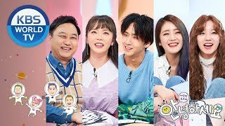 Guests : Kim Sooyong, Hong Jinyoung, Ravi, Yuqi, Minnie [Hello Counselor/ENG, THA/2019.03.11]