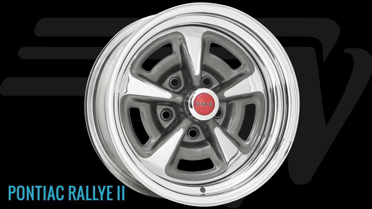 Wheel Vintiques Pontiac Rallye Ii Wheel Youtube