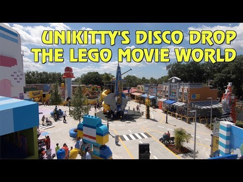 Unikitty's Disco Drop POV | The LEGO Movie World at Legoland Florida