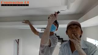 Kỹ thuật sơn trần thạch cao của thợ sơn nước là đây I Construction 4.0