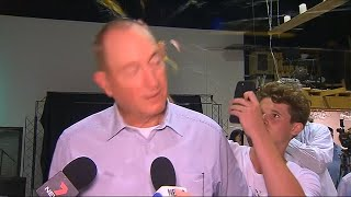 Australian senator gets egged in protest after controversial New Zealand shootings statement