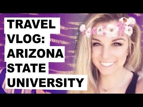 Visiting Arizona State University   Travel Vlog