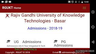 Additional 500 seats ||Rgukt-Basara admissions for SSC students ||AP IIIT notification||aptet lates