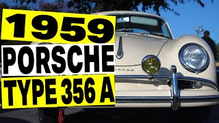 1959 Porsche 356 A - Classic Porsche 1.6L 1600 Super