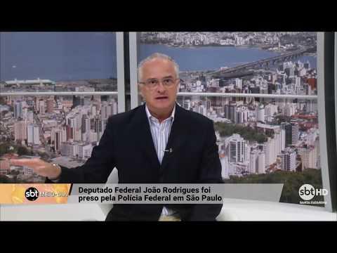 Deputado Federal João Rodrigues foi preso pela Polícia Federal em SP