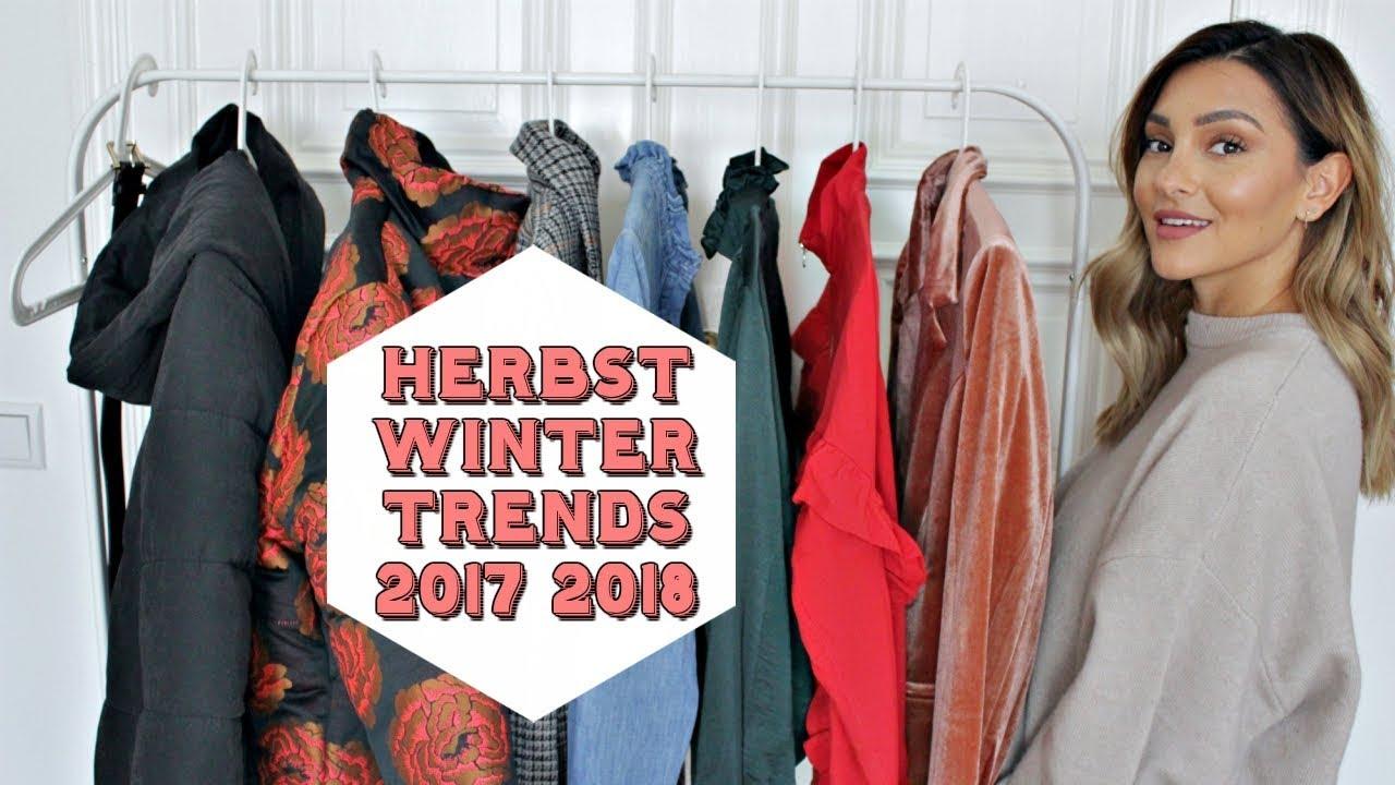 Trends jacke herbst 2018