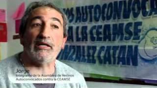 Vecinos Autoconvocados de González Catán contra la C.E.A.