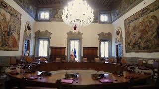 Uno sguardo su Palazzo Chigi: la Sala del Consiglio dei Ministri