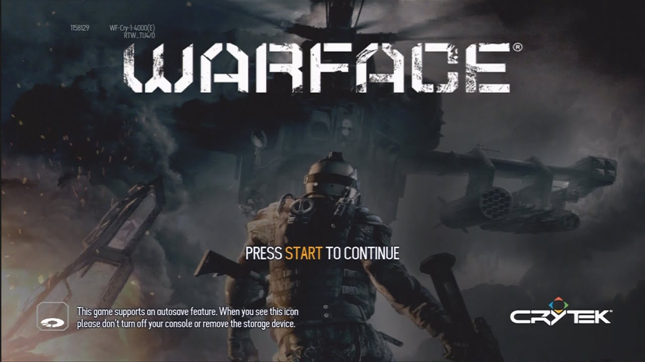 Shooting Games For Xbox 360 : Crytek s free play first person shooter warface for xbox